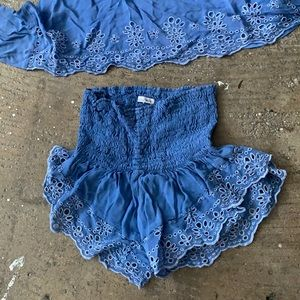 Planet Blue Matching Set